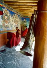 India-Ladakh (venturidonatella) Tags: india monastery monks ladakh