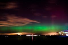 Edinburgh Aurora Feb 27/28th (Kit Carruthers) Tags: edinburgh fife forth newhaven northernlights auroraborealis 2014