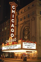 Chicago Theatre (koborin) Tags: travel chicago night illinois broadway il musical chicagotheatre earthwindandfire northstatestreet