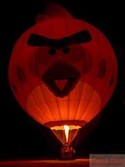 Bird flame (errolgc) Tags: newzealand bird balloon hamilton universityofwaikato balloonsoverwaikato2014 cameronsphere105n333abangry nightglow2014
