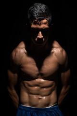 David Vandal (Brian Joseph Mrquez) Tags: work key power background low hard strong athlete fitness strobist