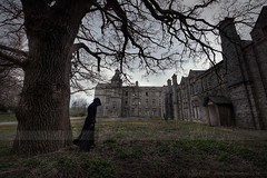 Dusk (Sshhhh...) Tags: black tree dark robe gothic explore horror cloak asylum sshhhh