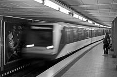 U-Bahn (FriendFisherman) Tags: train hamburg zug bahnhof ubahn bahnsteig emilienstrase