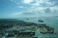 View from Spinnaker Tower (gmj49) Tags: sea tower water sony spinnaker portmouth gmj a350