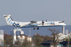 G-JECE DHC-8-402Q Dash 8 Flybe - British European (kw2p) Tags: airplane scotland unitedkingdom aircraft aeroplane landing dash8 glasgowairport dehavillandcanada inchinnan egpf gjece flybebritisheuropean dhc8402qdash8 egpfgla