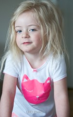 Here's Looking at U (LHDPhotos) Tags: girl yellow female child young blond