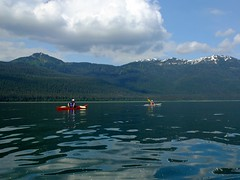 Kayaking (The Cabin On The Road) Tags: kayak kayaking seakayak seakayaking alaskaseakayaking
