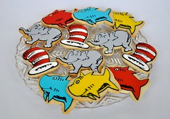 Seuss inspired cookies