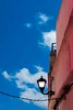 Lampy Lamp (MaعART) Tags: life old pink blue red sky lamp colors architecture vintage design compo morocco maroc medina azemmour