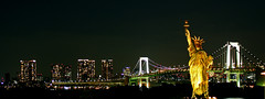 Odaiba (ToshioMiike) Tags: japan liberty odaiba tokio japn