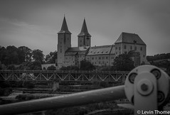 Castle, Rochlitz (Levin Thome) Tags: bw white black castle 35mm germany deutschland nikon 18 rochlitz d7100