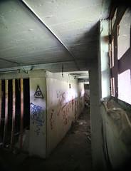 Abandoned Hall (karla.mellett) Tags: lighting color abandoned minnesota hall