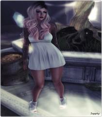 008 Vision in white  (Sapphire Seraph) Tags: maitreya magika {vision} aimiskins
