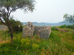 BabinKuk (Lydie's) Tags: trees sea grass islands ruins croatia wildflowers dwelling babinkuk