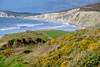 The cliffs above Compton Bay - DSCF2751 (s0ulsurfing) Tags: s0ulsurfing 2017 february isle wight winter compton bay coast sea cliffs beach