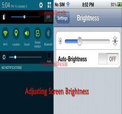 screen brightness (eInfoDesk) Tags: 10 ways make your phone live longer methods steps care
