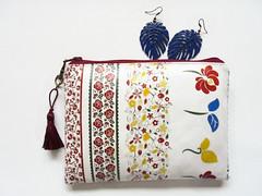 Waterproof wallet folk floral (Jigglemawiggle) Tags: folk rpimitive folky folkflowers folkfloral creditcardholder etsy jigglemawiggle madeinscotland handmade folksy
