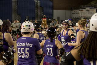 DC Rollergirls at the DC Armory