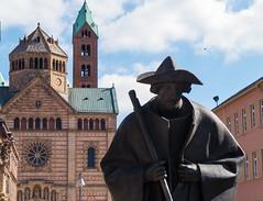 Speyer / Pilgrim - Jakobspilger (fotogake) Tags: speyer pilgrim jakobspilger dom cathedral