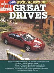 "Chrysler ""Great Drives"" (Hugo-90) Tags: chrysler dodge plymouth jeep car truck suv sedan station wagon pickup greatdrives automobile magazine supplement ads advertising catalog brochure 1998"