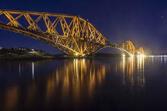 Took this last night from North Queemsferry, I truely believe this is the best looking bridge on the planet! (iancook95) Tags: