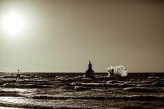 2017 0308 St. Joe Pier-117 (greenshots32) Tags: mckenziehassle michellehassle nature silverbeach snowandice tiscorniabeach tiscorniapier beach bigwaves seagulls sunset winter