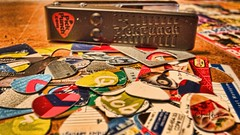 Guitar picks by sheldn (2sheldn) Tags: guitar picks sheldn canon t5i hdr pickpunchcom