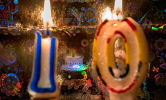 "Macro Monday""Happy 10 Years"" (peterbaird100) Tags: macromondays happy 10 years celebration party candles milestone"