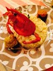 Riso all astice con bietole rosse e gialle al curry e zafferano (viscafrancesco43) Tags: zafferano curry bietola astice riso