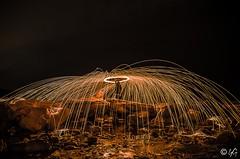 steel wool (yannick_gagnon) Tags: steelwool fire night nuit nightscape nights