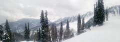 Gulmarg Vista (Shuddho1980) Tags: panorama kashmir mountains gulmarg snow
