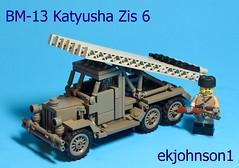 BM-13 Katyusha Zis 6 (ekjohnson1) Tags: ussr two war world bricklink lego moc russia wwii katyusha bm13 zis 6 1941 citizen brick brickarms overmold ppsh