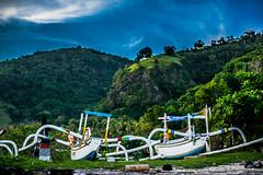 Candidasa Boats (Macshoot) Tags: asia indonesia bali candidasa boats landscape