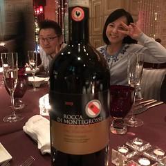 東京ベイコートクラブ イタリアンで、マイマイさんと乾杯! #東京ベイコート倶楽部 #ozio #いとうまい子