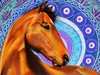 Mandala (MaiKoh) Tags: myart artist art dan65 ipadpro applepencil procreate digitalmedia digitalpainting digitalart mandalas mandala horses horse