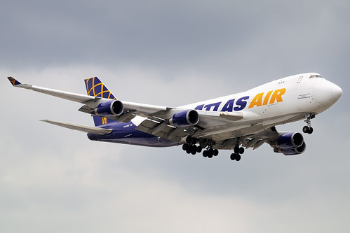 Atlas Air Boeing 747-47UF (N409MC)