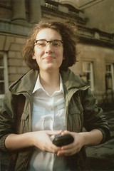 Sanne (Apesanteur) Tags: portrait people film girl analogue studytrip