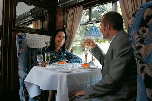 British Pullman - special occasion on a luxury train in the UK