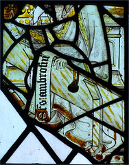 fragments: St Ambrose (15th Century) (Simon_K) Tags: nethergate saxlingham