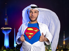 Super Kuwaiti (radiant guy) Tags: portrait selfportrait man male guy me self power creative superman kuwait kuwaiti manofsteel maleportrait kuwaittowers malephotography