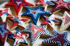 stars assorted (Elizabeth / LoneStarsandStripes) Tags: usa cookies america stars cookie patriotic july4th 4thofjuly patriotism independenceday redwhiteandblue royalicing cookiedecorating