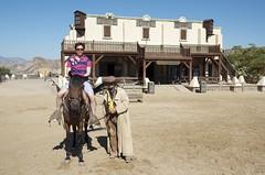Richard on a horse