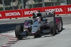 James Jakes enters Turn 1 at Toronto (IndyCar Series) Tags: jamesjakes hondaindytoronto meteringmode5 isospeedrating320 rahallettermanlaniganracing focallength300010 fnumber10010 cameranikond4 exposure1012500