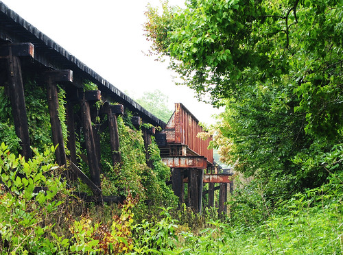 baytown texas harris county chambers cedar bayou railroad railway rr train bridge riveted pony steel girder pontist united states north america