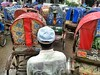 Wet Shirt (AvikBangalee) Tags: wet rain weather shirt traffic lifestyle baseballhat cap dhaka rickshaw bangladesh rickshawart rickshawpuller elephantroad flickrandroidapp:filter=none