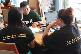 Staff of the Office of Sen. Vicente C. Pangelinan Assist Registrant