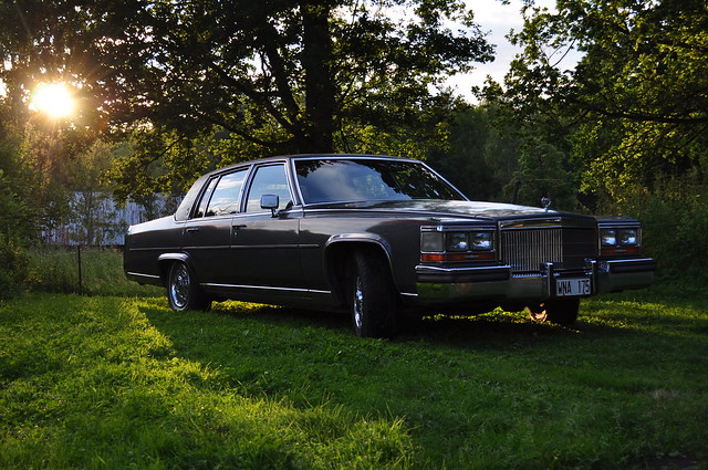 summer countryside swedish cadillac 1989 brougham cadillacbrougham 1989cadillac 1989cadillacbrougham