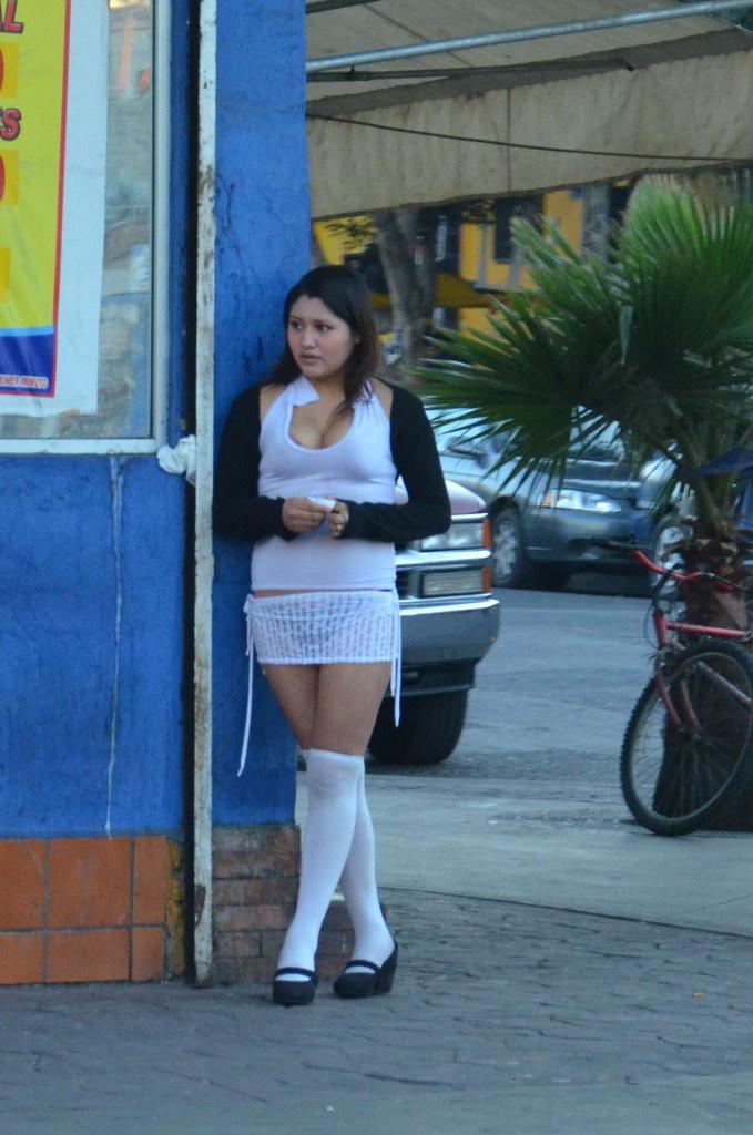 "TJ Prostitute @ Tijuana red-light district ""La Coahuila"" (also  know"