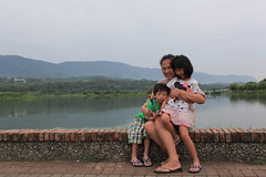 IMG_9019.jpg (jozumi) Tags: park travel family blue sea food baby green canon garden amber kid tour outdoor f14 taiwan scene east local aug  ryder   moutain                  35l  2013    5d2 xm3u6