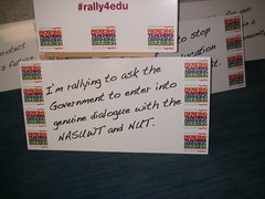 London Rally for Education (nasuwt_union) Tags: nasuwt education conference woman man black white speaking stand hall meal drinks happy members workshop pesident birmingham banner meeting stage positive portrait guidance crowd teachers leaders lectures students awards executive staff show tell help advice support listen adults people england scotland northern ireland wales strong women men insturction health safetly wellbeing classroom school college university table voting union best brilliant workplace seminar